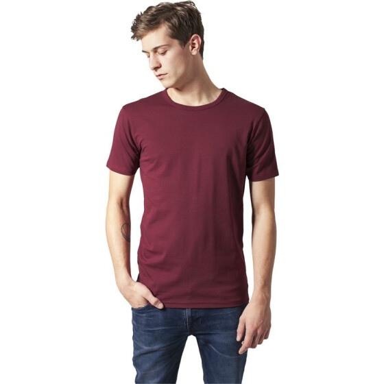 Urban Classics Fitted Stretch Tee, burgundy S