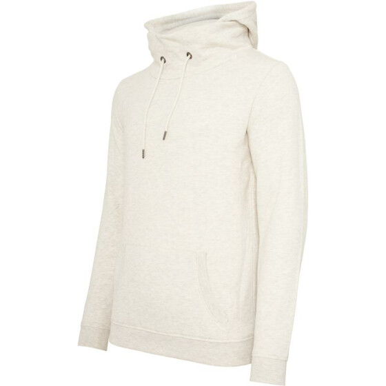 Urban Classics High Neck Hoody, offwhite XL