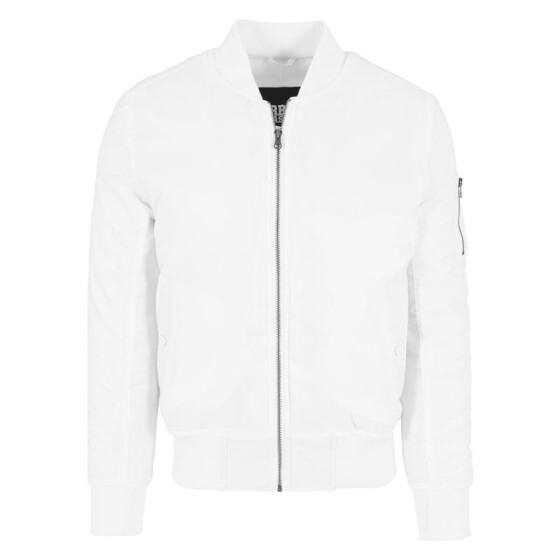 Urban Classics Basic Bomber Jacket, white XL