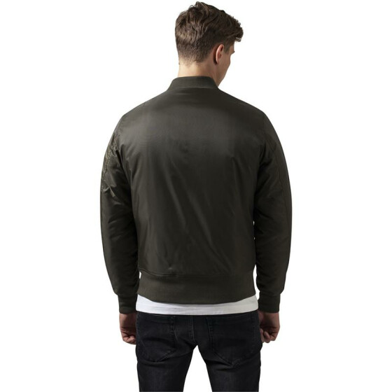 Urban Classics Basic Bomber Jacket, darkolive S