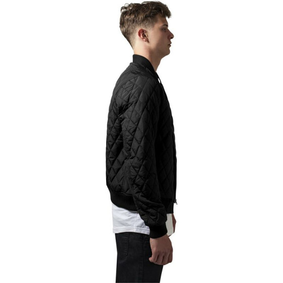 Urban Classics Diamond Quilt Nylon Jacket, black L