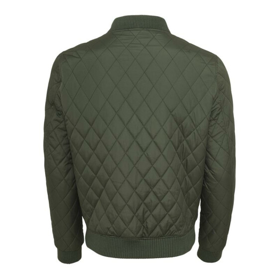Urban Classics Diamond Quilt Nylon Jacket, olive S