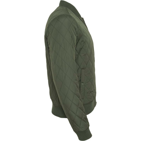 Urban Classics Diamond Quilt Nylon Jacket, olive L