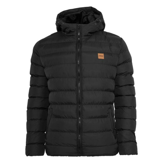 Urban Classics Basic Bubble Jacket, blkblkblk M