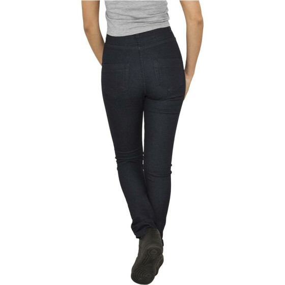 Urban Classics Ladies High Waist Denim Skinny Pants, raw blue denim 29