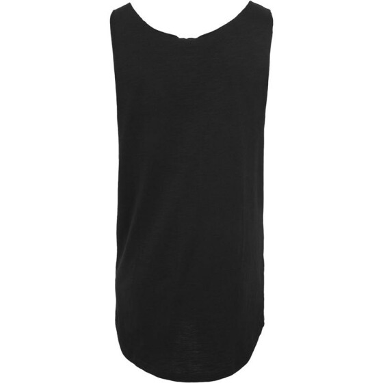 Urban Classics Long Shaped Open Edge Loose Tank, black S