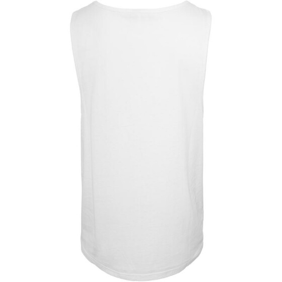 Urban Classics Leather Imitation Pocket Loose Tank, wht/blk L