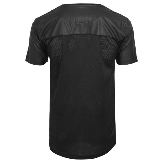 Urban Classics Football Mesh Long Jersey, blk/blk L