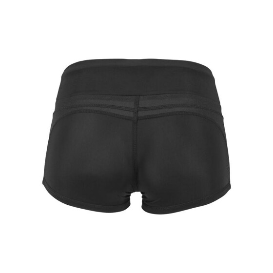 Urban Classics Tiny Dancer Nylon Hotpants, black XL