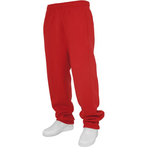 Urban Classics Kids Sweatpants, red 12