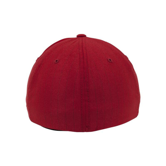 Urban Classics Promotion Pinstripe Flexfit Cap, red/navy S/M