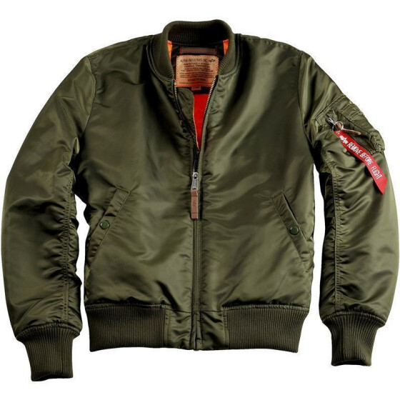 Alpha Industries  MA-1 VF 59, dark green XXL