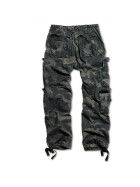 SURPLUS Airborne Vintage Trouser, stonewashed, black camo 7XL / 130 cm