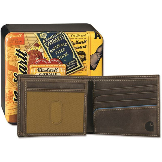 CARHARTT Two Tone Billfold Wallet, braun