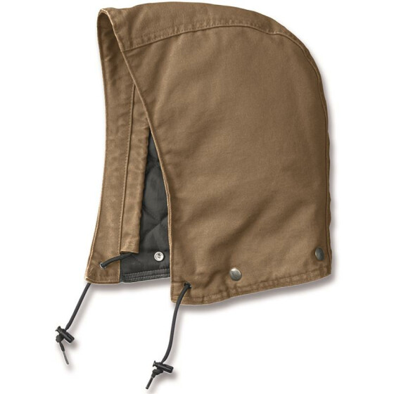 CARHARTT Sandstone Hood Polyester Quilted, braun