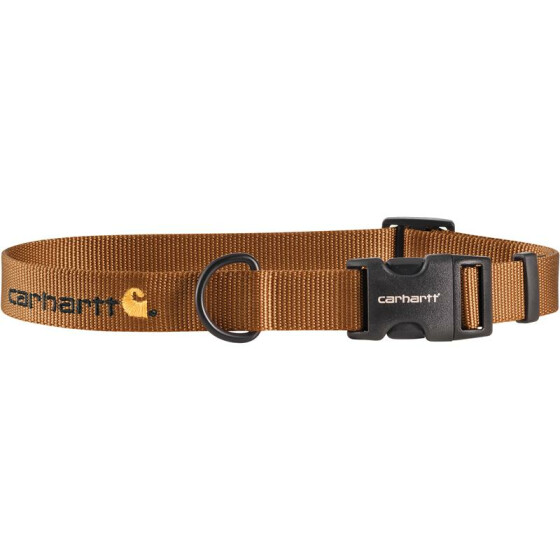 CARHARTT Tradesman Nylon Dog Collar, braun