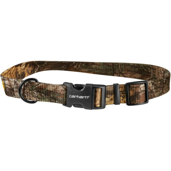 CARHARTT Tradesman Nylon Dog Collar, laub