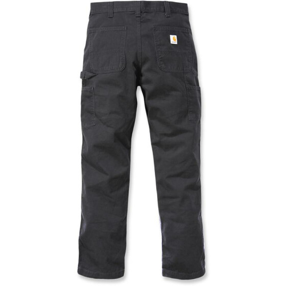 CARHARTT Washed Twill Dungaree, schwarz