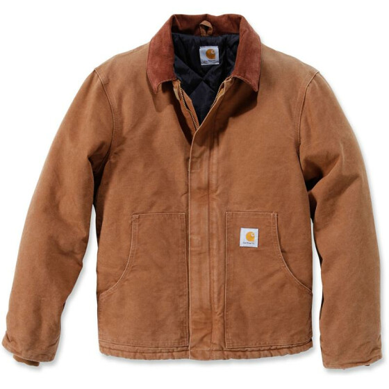 CARHARTT Sandstone Traditional Jacket, braun