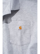 CARHARTT Contractors Work Pocket Polo, grau
