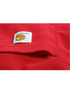 CARHARTT Contractors Work Pocket Polo, rot