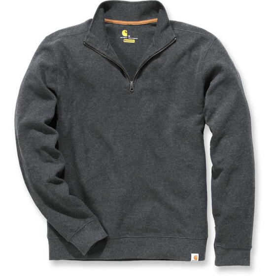 CARHARTT Sweater Knit Quarter Zip, dunkelgrau