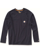 CARHARTT Carhartt Force® Cotton Long Sleeve T-Shirt, dunkelblau