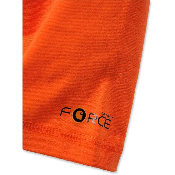 CARHARTT Carhartt Force® Cotton Long Sleeve T-Shirt, orange