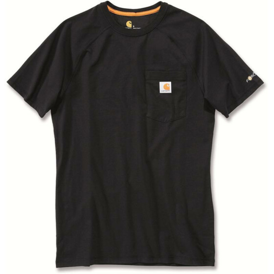 CARHARTT Carhartt Force® Cotton Short Sleeve T-Shirt, schwarz
