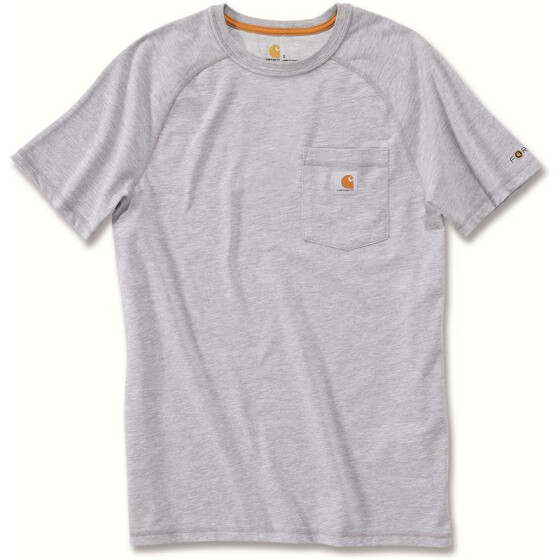 CARHARTT Carhartt Force® Cotton Short Sleeve T-Shirt, grau