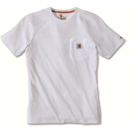 CARHARTT Carhartt Force® Cotton Short Sleeve T-Shirt, weiss