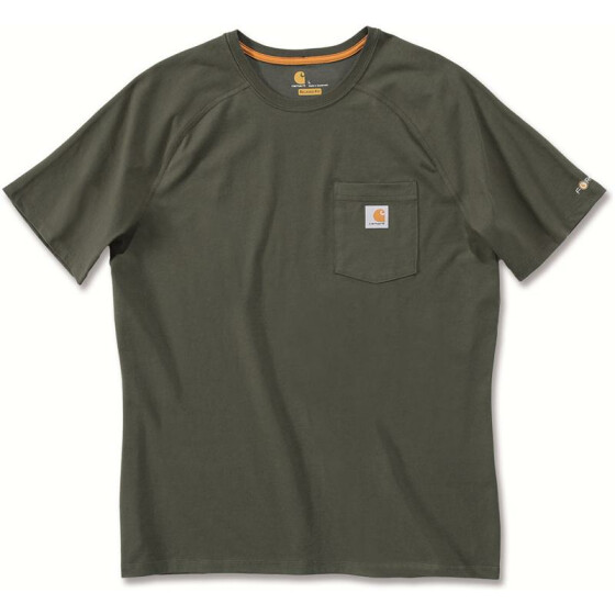 CARHARTT Carhartt Force� Cotton Short Sleeve T-Shirt, gr�n