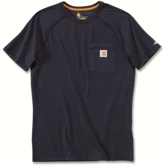 CARHARTT Carhartt Force® Cotton Short Sleeve T-Shirt, dunkelblau