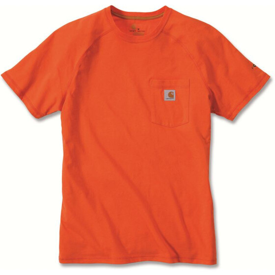 CARHARTT Carhartt Force® Cotton Short Sleeve T-Shirt, orange