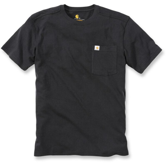 CARHARTT Maddock Pocket Short Sleeve T-Shirt, schwarz