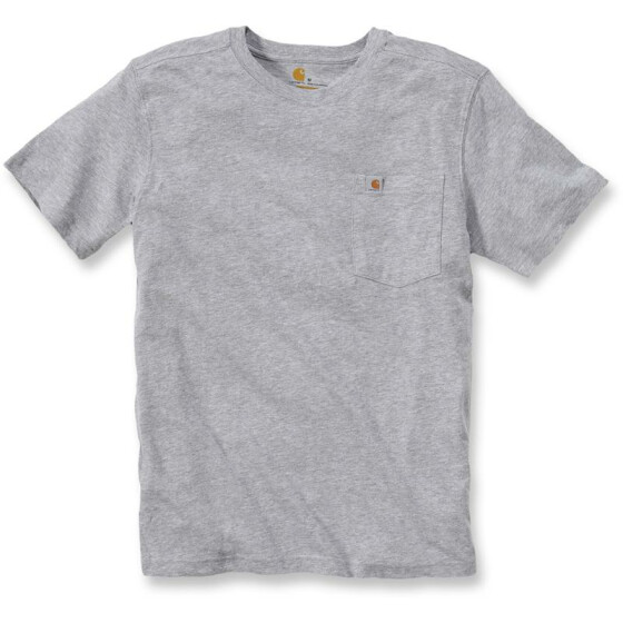 CARHARTT Maddock Pocket Short Sleeve T-Shirt, grau