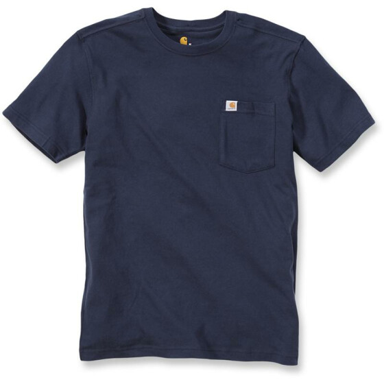 CARHARTT Maddock Pocket Short Sleeve T-Shirt, dunkelblau