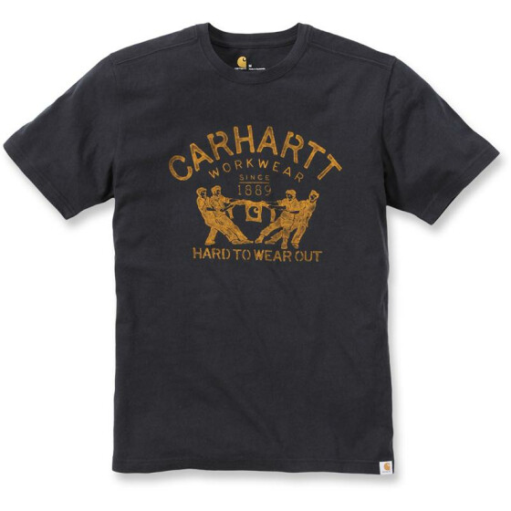 CARHARTT Maddock Graphic Hard To Wear Out Short Sleeve T-Shirt, schwarz