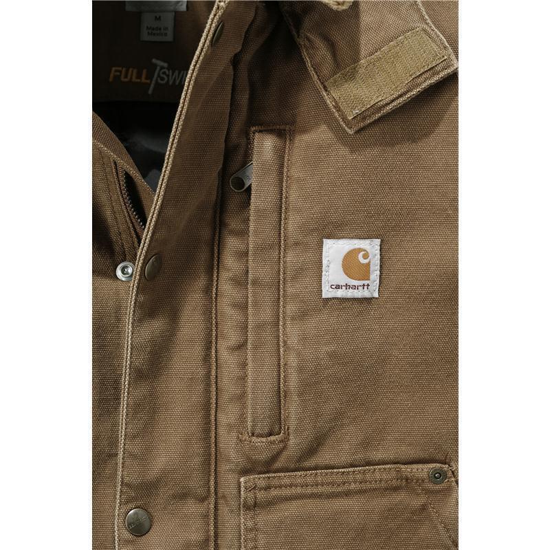 CARHARTT Sandstone Full Swing? Caldwell Jacket, braun