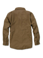 CARHARTT Weathered Canvas Shirt Jacket, braun S