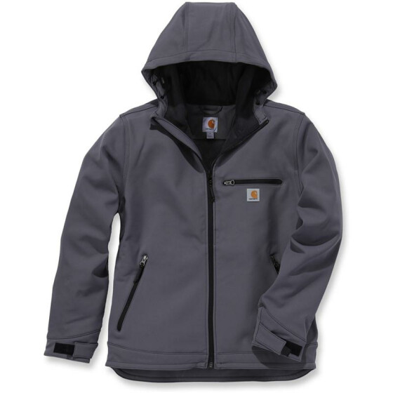 CARHARTT Crowley Hooded Jacket, anthrazit XXL