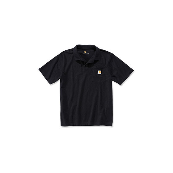 CARHARTT Contractors Work Pocket Polo, schwarz XL