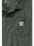 CARHARTT Contractors Work Pocket Polo, grün XXL