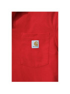 CARHARTT Contractors Work Pocket Polo, rot M