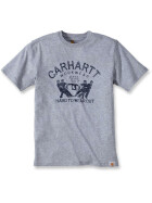 CARHARTT Maddock Graphic Hard To Wear Out Short Sleeve T-Shirt, grau XL