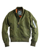 Alpha Industries MA-1 TT wmn (Damen), dark green