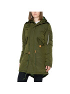Alpha Industries Fishtail CW TT wmn (Damen), dark green