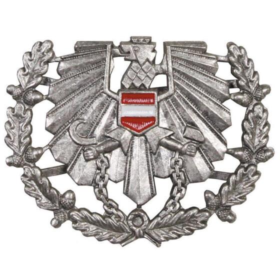 12501a75e818d5 MFH Österr. BH Schirmmützen- abzeichen, Heer, neuwertig