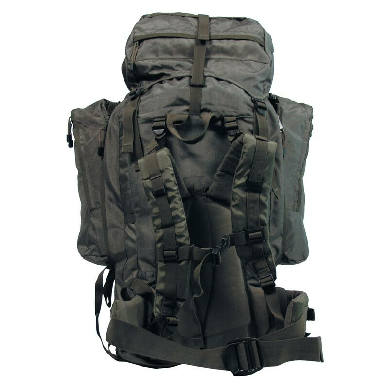 mfh rucksack alpin 110 oliv 2 abnehmbare seitentaschen. Black Bedroom Furniture Sets. Home Design Ideas