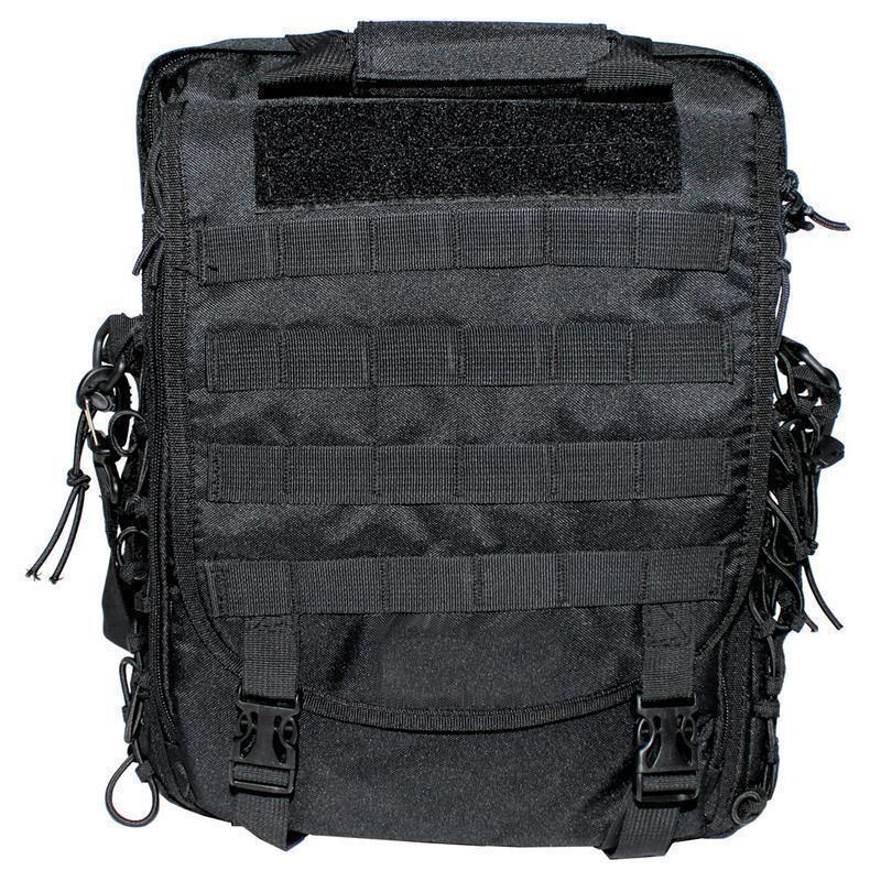 mfh schultertasche und rucksack in einem molle schwarz. Black Bedroom Furniture Sets. Home Design Ideas